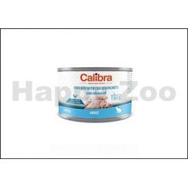 Konzerva CALIBRA Cat Adult Chicken with Chicken Hearts and Salmo
