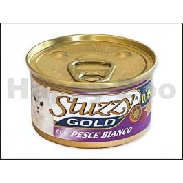 Konzerva STUZZY Cat Gold - bílá ryba 85g