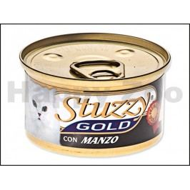 Konzerva STUZZY Cat Gold - hovězí 85g