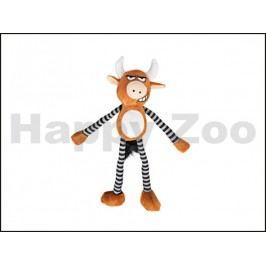 Hračka KARLIE-FLAMINGO plyš - býk šustící a pískací 36cm