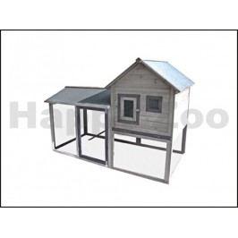 Kurník KARLIE-FLAMINGO Calimero Cottage 197x143x93cm
