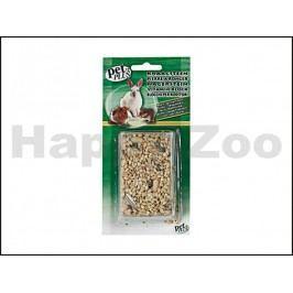 Minerální kámen s vitamíny KARLIE-FLAMINGO pro hlodavce s musli