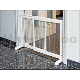 Posuvná dveřní zábrana TRIXIE bílá 65-108x61x31cm