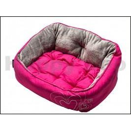 Pelech ROGZ Lapz Luna Pod - Pink Heart (M) 56x43x29cm