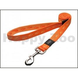 Vodítko ROGZ Alpinist HLL 27 D-Orange (XL) 2,5x180cm