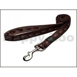 Vodítko ROGZ Alpinist HLL 27 J-Chocolate (XL) 2,5x180cm