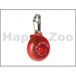 Svítící přívěšek ROGZ Roglite IDL 02 C-Red 3,1cm