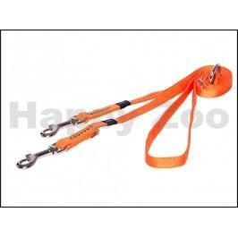 Vodítko přepínací ROGZ Lapz Luna HLM 501 D-Orange (S) 1,3x110-14