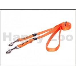 Vodítko přepínací ROGZ Lapz Luna HLM 503 D-Orange (M) 1,6x110-14