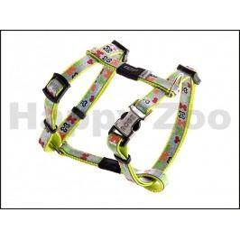 Postroj ROGZ Lapz Trendy SJ 520 L-Multi Bones (XS) 0,8x18-30x21-