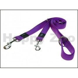 Vodítko přepínací ROGZ Utility HLM 11 E-Purple (M) 1,6x100-130-1