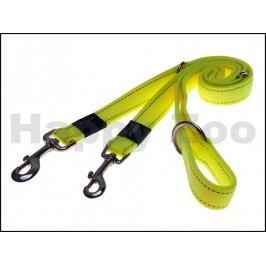 Vodítko přepínací ROGZ Utility HLM 11 H-Dayglo Yellow (M) 1,6x10