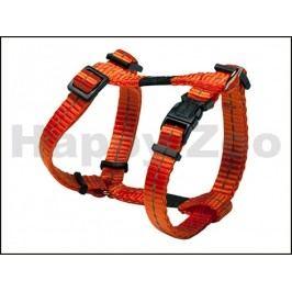 Postroj ROGZ Utility SJ 14 D-Orange (S) 1,1x20-34x23-37cm