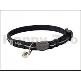 Obojek ROGZ Catz AlleyCat CB 216 A-Black (XS) 0,8x16,5-23cm