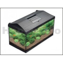 Akvarijní set AQUAEL Leddy Plus 60 černé (54l) 60x30x30cm