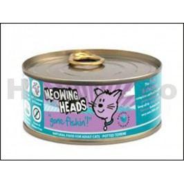 Konzerva MEOWING HEADS Gone Fishing 100g