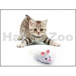Hračka pro kočky HEXBUG - robotická myš (bílá)