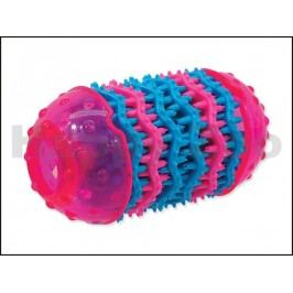 Hračka DOG FANTASY TPR guma - Dental růžová 8x14,5cm