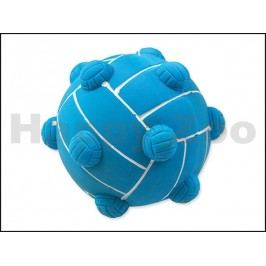 Hračka DOG FANTASY latex - míč s výstupky se zvukem 9cm (MIX BAR