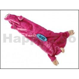 Hračka DOG FANTASY plyš - Skinneeez návlek na láhev prase 60cm
