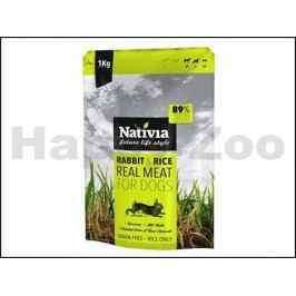 NATIVIA Real Meat Rabbit & Rice 1kg