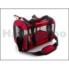 Taška JK síťovaná červená (S) 36x22x25cm