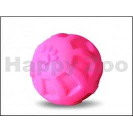 Hračka JK vinyl - míč s tlapkami 10cm (MIX BAREV)