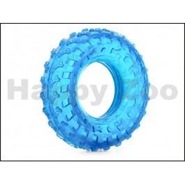 Hračka JK guma TPR - pneumatika modrá 10cm