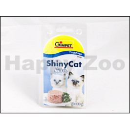 Konzerva SHINY CAT Kitten - tuňák 2x70g