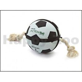 Hračka FLAMINGO - Action Ball fotbalový míč s provazy 22cm