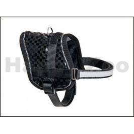 Postroj FLAMINGO Teeny Weeny černý (XS) 30-39x1,5cm