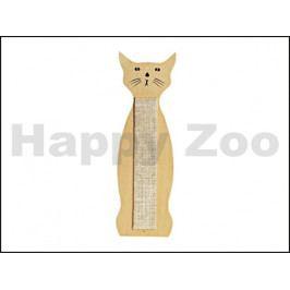 Škrabadlo FLAMINGO nástěnné kočka 59x21cm