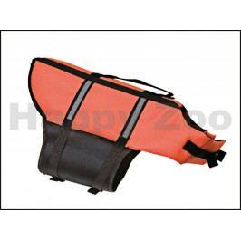 Plovací vesta FLAMINGO oranžová (XL) 45cm (pro psy nad 45kg)