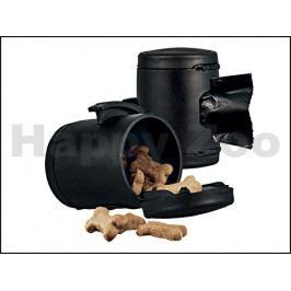 FLEXI Multi Box (S-M-L) - černý zásobník na pamlsky nebo pytlíky