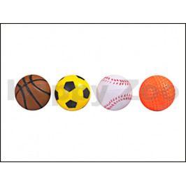 Hračka pro kočky FLAMINGO - pěnové míčky 4cm (4ks)