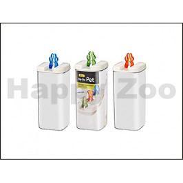 Plastový box na pamlsky KARLIE-FLAMINGO 31cm (3100ml) (MIX BAREV
