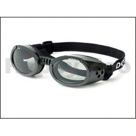 Sluneční a ochranné brýle pro psy DOGGLES ILS Black (XL)