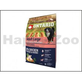 ONTARIO Adult Large Chicken & Herbs 2,25kg