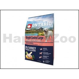 ONTARIO Adult Large Weight Control Turkey 2,25kg