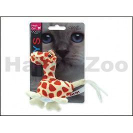 Hračka MAGIC CAT pro kočky - zvíře z džungle 12-15cm (MIX BAREV)