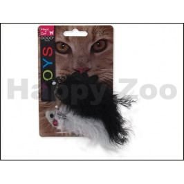 Hračka MAGIC CAT pro kočky - ryba chrastící s catnipem 11cm (2ks