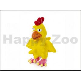 Hračka JK latex - kuře s bodlinami 13cm