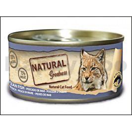 Konzerva NATURAL GREATNES Cat Ocean Fish 70g