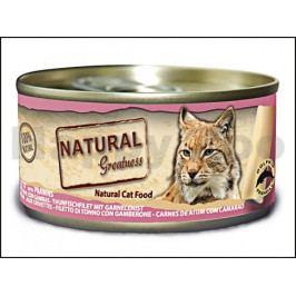 Konzerva NATURAL GREATNES Cat Tuna Fillet 70g