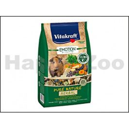 VITAKRAFT Emotion Pure Nature Herbal Guinea Pig 600g