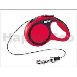 FLEXI New Comfort Cord (XS) - červené (do 8kg, 3m lanko)