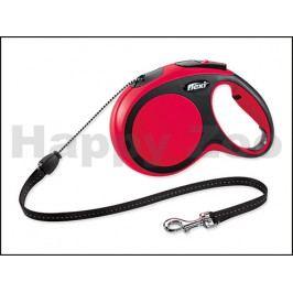 FLEXI New Comfort Cord Long (M) - červené (do 20kg, 8m lanko)