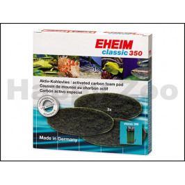 Náplň EHEIM molitan uhlíkový jemný Classic 350 (3ks)