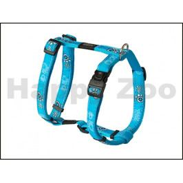 Postroj ROGZ Fancy Dress SJ 03 CH-Turquoise Paws (L) 2x29-64x45-