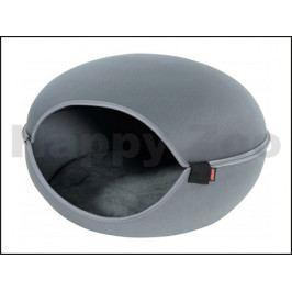 Iglu/pelech pro kočky ZOLUX Louna šedý 49x48x17cm